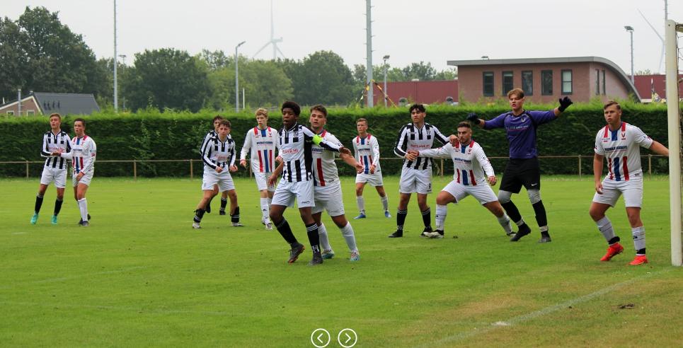 Knappe wedstrijd 19-1 tegen JEKA
