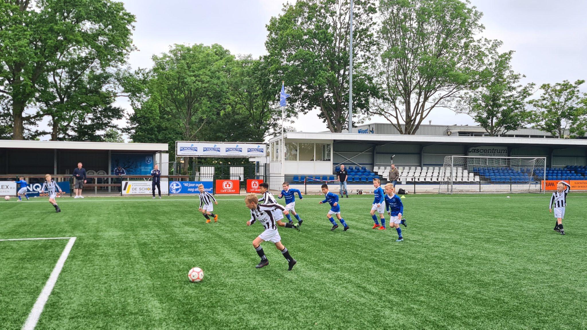 Onze 9-1 voor de Regio Cup naar Rijsoord