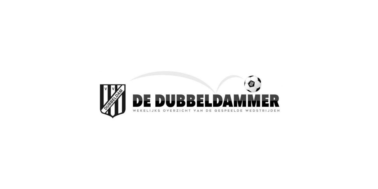 De Dubbeldammer: Winterstop, maar alleen voor de voetballers